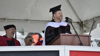 """""""You are all going to die"""" Joss Whedon's Wesleyan Commencement Speech"""