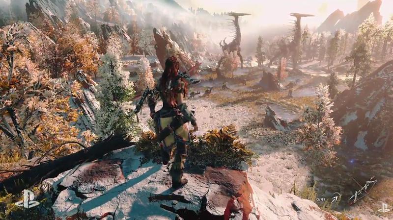 Illustration for article titled Sony mezcla robots con cazadores prehistóricos en Horizon: Zero Dawn