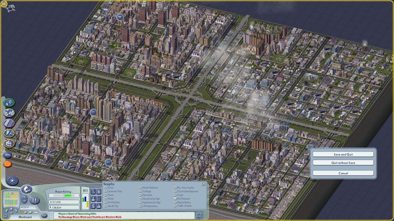Illustration for article titled SimCity 4 destroys Cities: Skylines all day every day