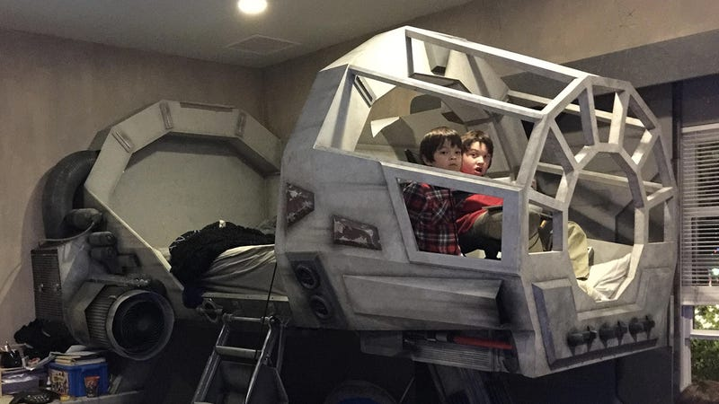 Illustration for article titled There's No Reason To Ever Get Out of a Millennium Falcon Bed