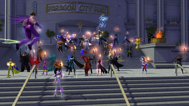 Illustration for article titled City of Heroes Goes Out With a Roar and a Bang
