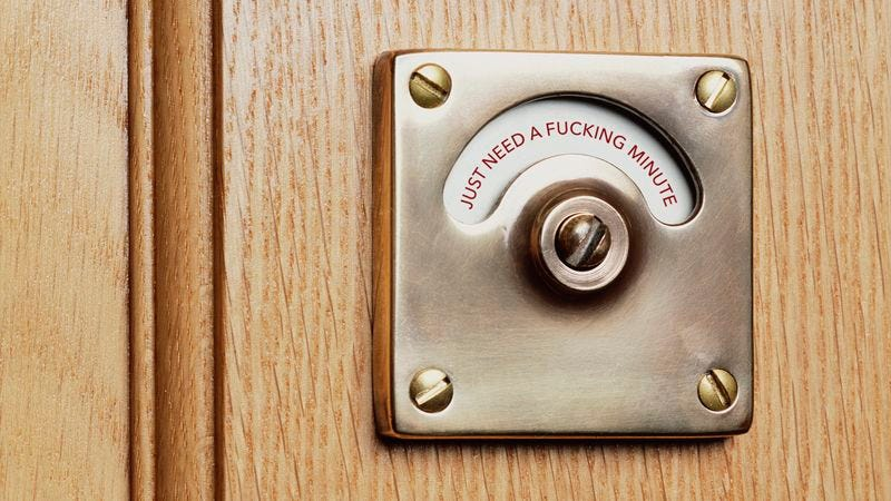 Excellent Finally A Bathroom Lock That Lets People Know Whether You Download Free Architecture Designs Boapuretrmadebymaigaardcom