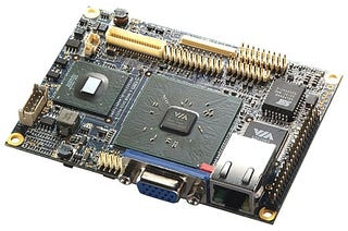 Illustration for article titled Via Pico-ITX: How Many Motherboards Fit on the Head of a Pin?