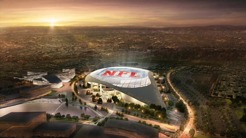 Illustration for article titled The Big Problem With LA's New Football Stadium