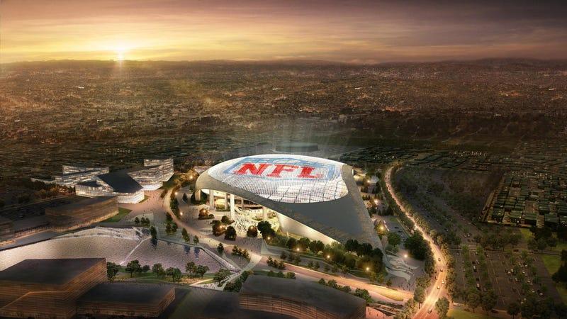 The Big Problem With LA's New Football Stadium
