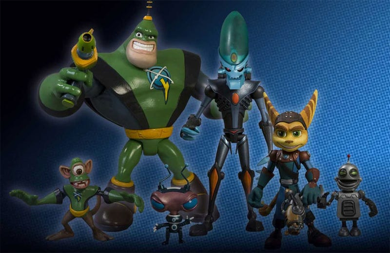 Illustration for article titled Ratchet & Clank: Action Figures
