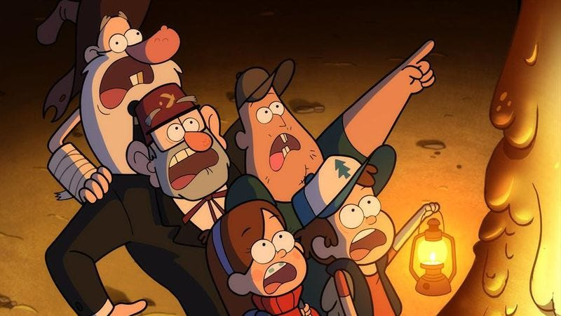 Illustration for article titled Almost without warning, another episode of Gravity Falls has escaped the Disney Channel labs