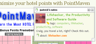 Illustration for article titled Paste notes on web pages with Stickis