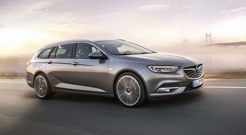 Illustration for article titled The 2017 Opel Insignia Wagon Will Make You Want To Buy A Buick