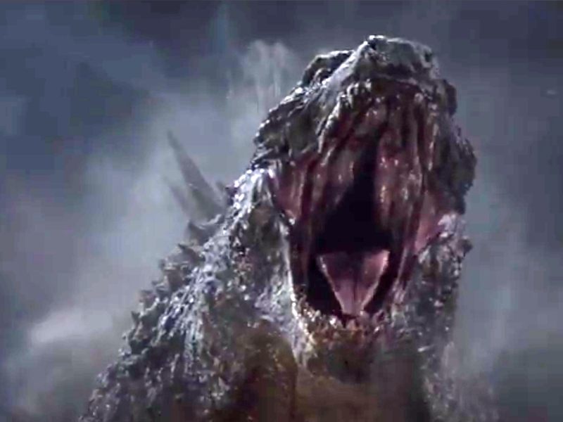 Illustration for article titled Godzilla: Meh.