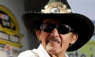 Illustration for article titled Richard Petty accepts challenge to race Danica Patrick