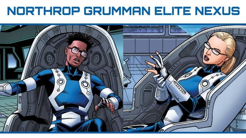 All Images: Marvel, Northrop Grumman