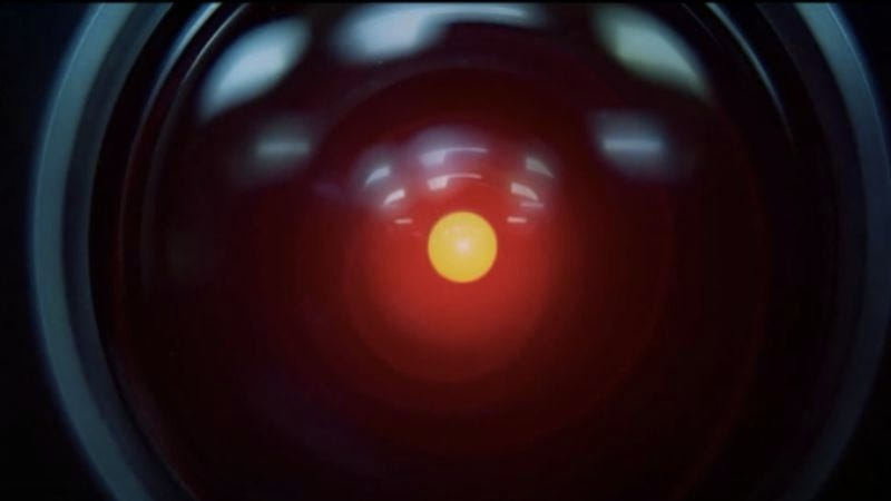 "Screenshot: HAL 9000: ""I'm Sorry Dave, I'm Afraid I Can't Do That""/YouTube"