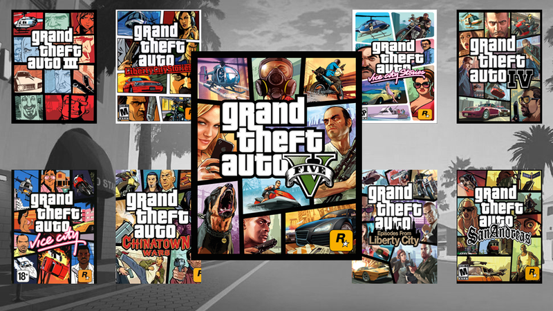 Illustration for article titled The Rules of Grand Theft Auto Box Art