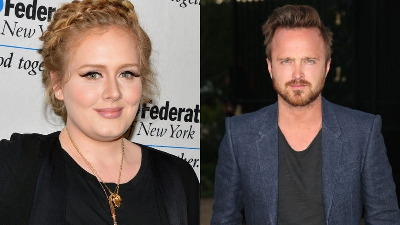 Illustration for article titled Aaron Paul Requests a Private Adele Concert, Same
