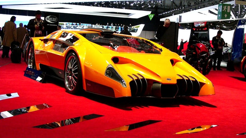 Illustration for article titled The Craziest Concept Cars From Geneva