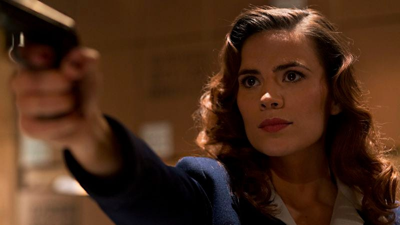 Illustration for article titled Marvel's Agent Carter is snazzy, retro, and super-cool