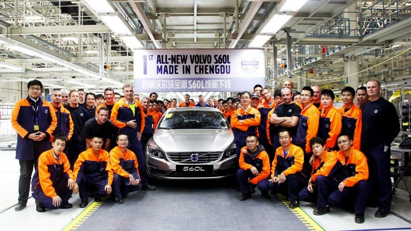 Illustration for article titled VOLVO CAR GROUP STARTS SERIES PRODUCTION OF THE VOLVO S60L AT CHENGDU MANUFACTURING PLANT