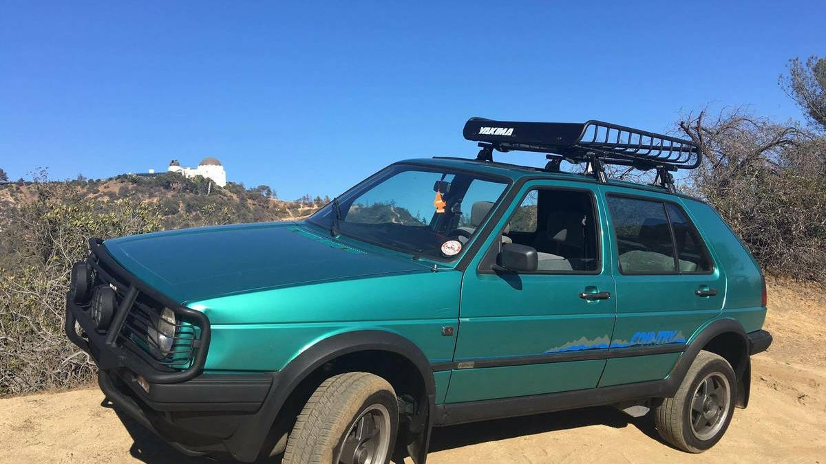 For $12,500, Would This 1990 VW Golf Country Syncro Jack You Up?