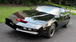 Illustration for article titled This KITT Replica Is The Ticket To Your Knight Rider Fantasy