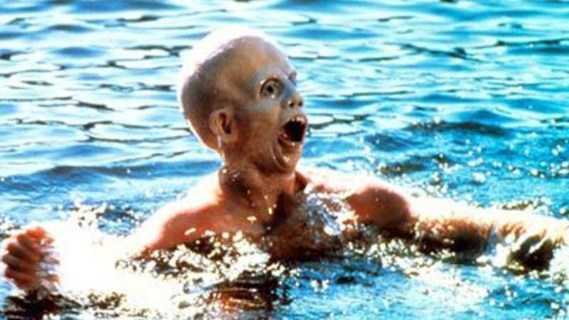 Jason Voorhees wasn't a very strong swimmer.