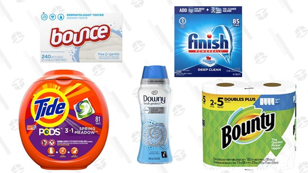 Save $10 When You Buy Three or More Household Items From Amazon