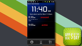Illustration for article titled Daily App Deals: Get Alarm Clock Xtreme for Android for Only 99¢ in Today's App Deals