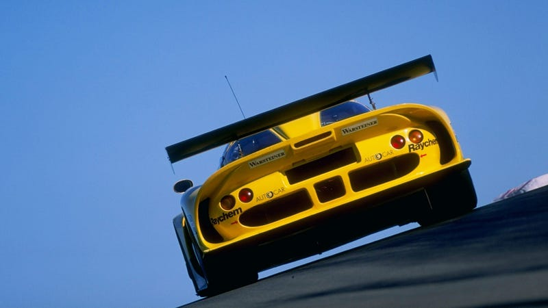 The Lotus GT1: one of the smaller teams knocked out of GT1's glory days as prices escalated.
