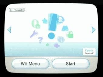 Wii stuck on updating screen