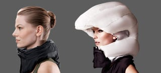 Illustration for article titled Is An Airbag For Your Head Really Safer Than A Bike Helmet?