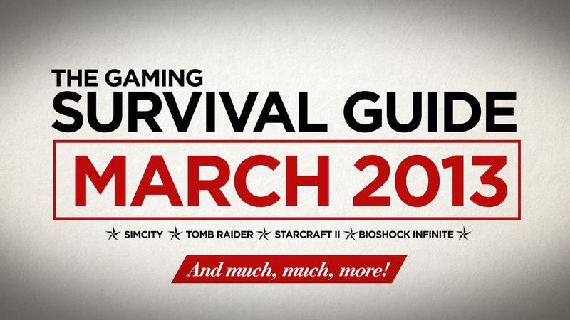 Illustration for article titled Your Survival Guide To The Biggest Gaming Month We've Seen In Years