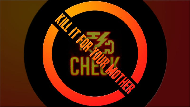 Illustration for article titled Sign The Petition To Ban The Stupid 'Check Engine' Light