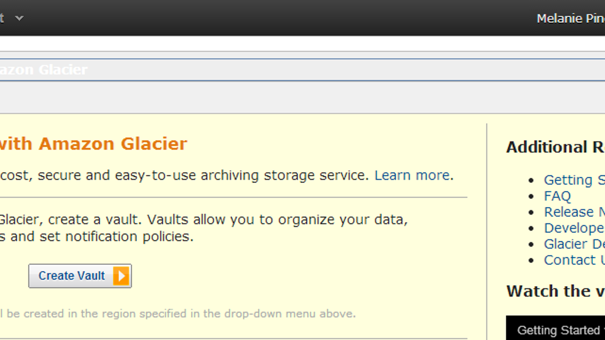 How to Use Amazon Glacier as a Dirt Cheap Backup Solution