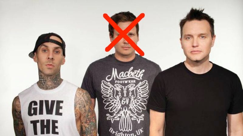 Illustration for article titled The DeLonge-less Blink-182 is working on a new album