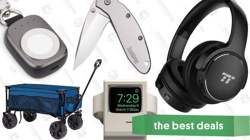 Illustration for article titled Thursday's Best Deals: $40 Noise Canceling Headphones, Apple Watch Accessories, Sperry Sale, and More