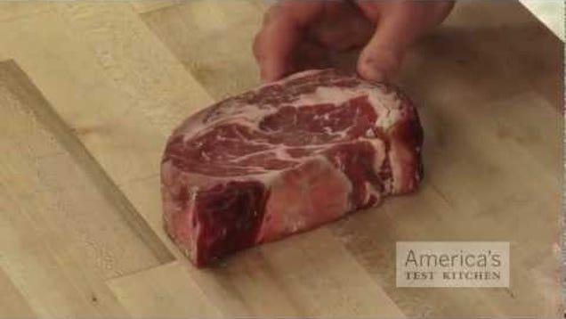 America S Test Kitchen Dry Aged Steak
