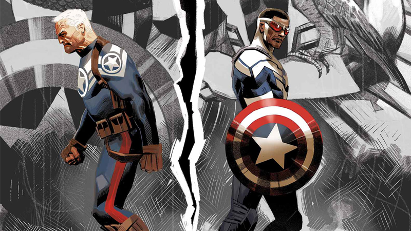Illustration for article titled The New Captain America Comic Reveals the Big Difference Between Sam Wilson and Steve Rogers