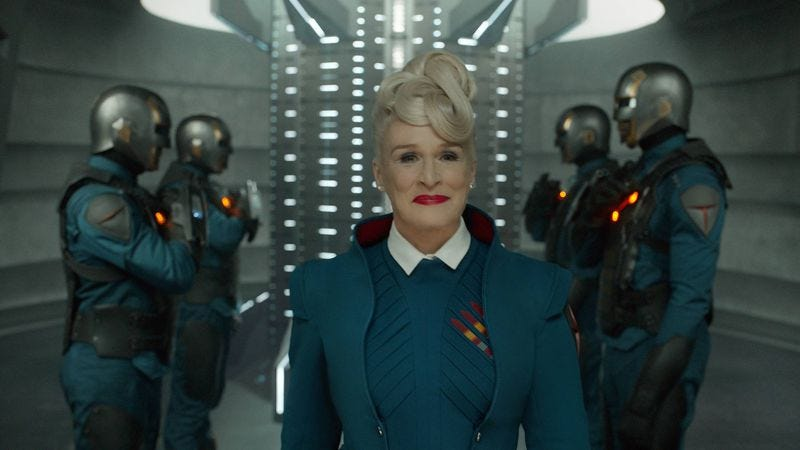 Glenn Close as Irani Rael in Guardians Of The Galaxy