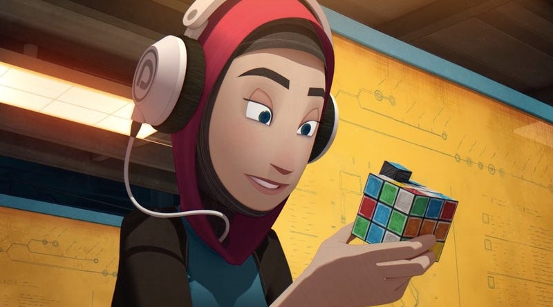 A 21st-century gamer takes an old-school detour in the delightful Scrambled.