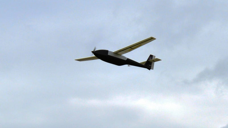 Illustration for article titled This Liquid Hydrogen UAV Just Flew for Two Days Straight