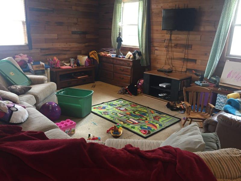 Reorganizing Room: Reorganizing The Living Room