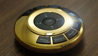 Illustration for article titled $55,000 Remote Control Has Gold Instead of Features