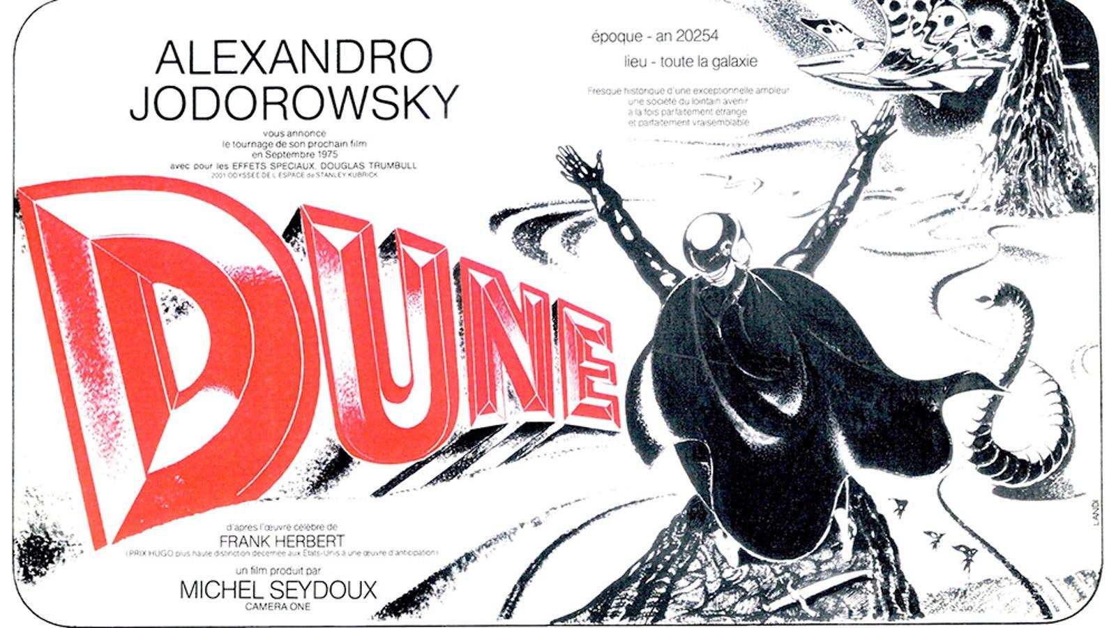 La mejor película de Dune de todos los tiempos nunca llegó a filmarse