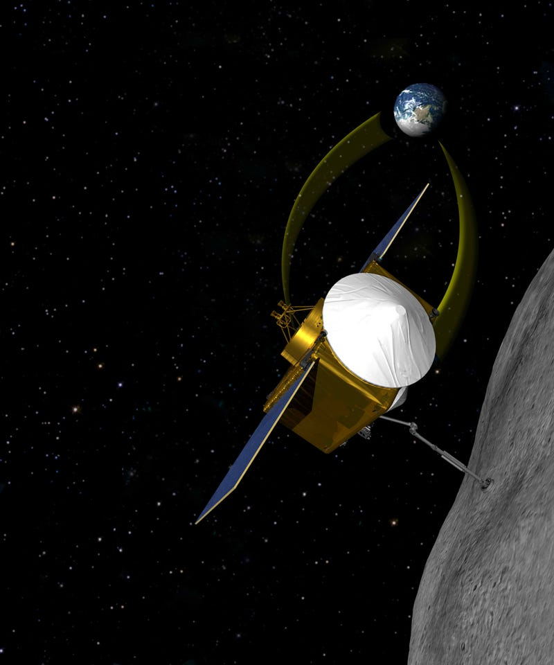 Illustration for article titled NASA probe will bring back pieces of an asteroid