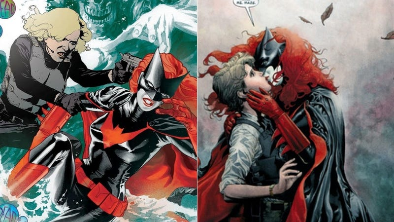 Batwoman Can't Marry, Says DC Pub, Because Heroes Can't Be Happy