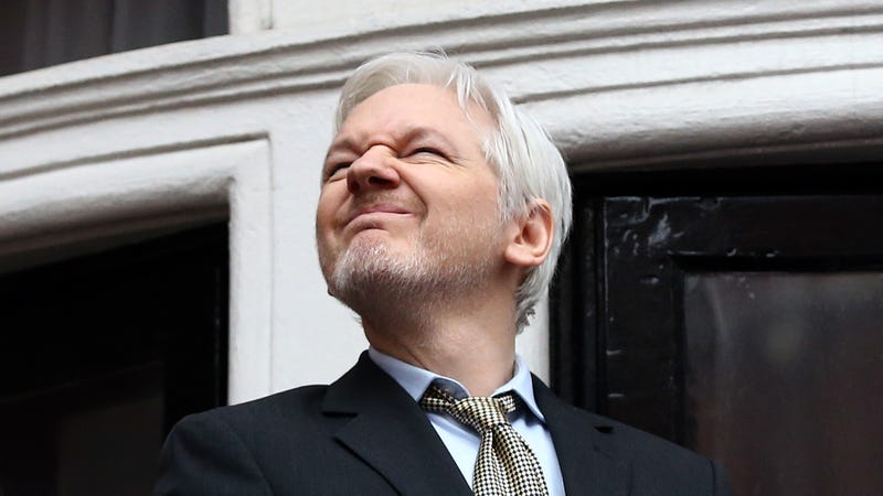 Illustration for article titled Julian Assange Will Never Move Out Ever, Ever, Ever