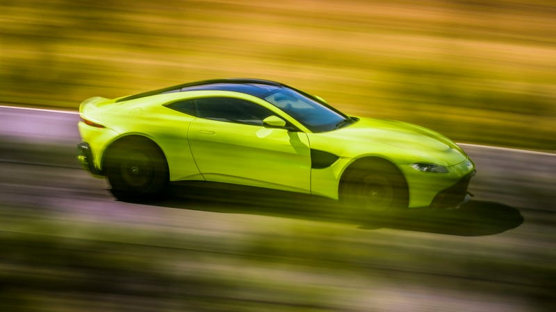 Illustration for article titled The 2019 Aston Martin Vantage Doesn't Settle For Anything
