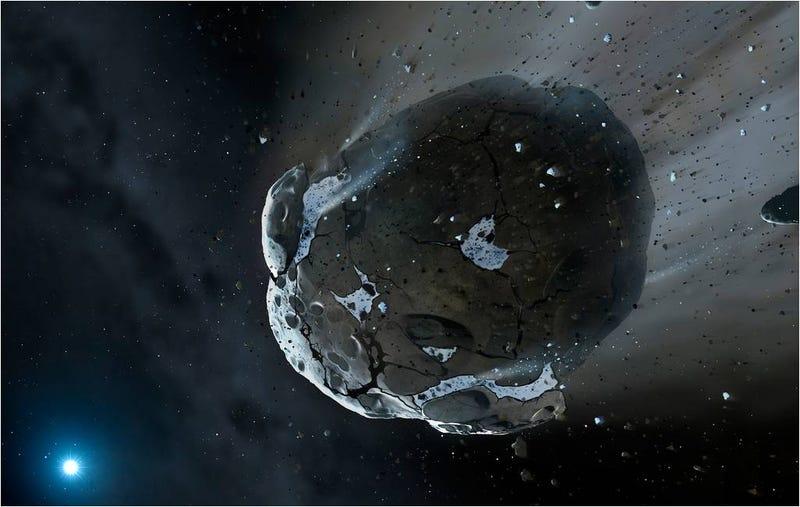 Illustration for article titled El meteorito de Chelyabinsk es producto de una colisión espacial