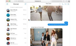 Messenger ya se puede usar en el navegador sin entrar en Facebook