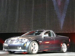 Illustration for article titled 2010 Pontiac G8 El Camino, Revealed Live!